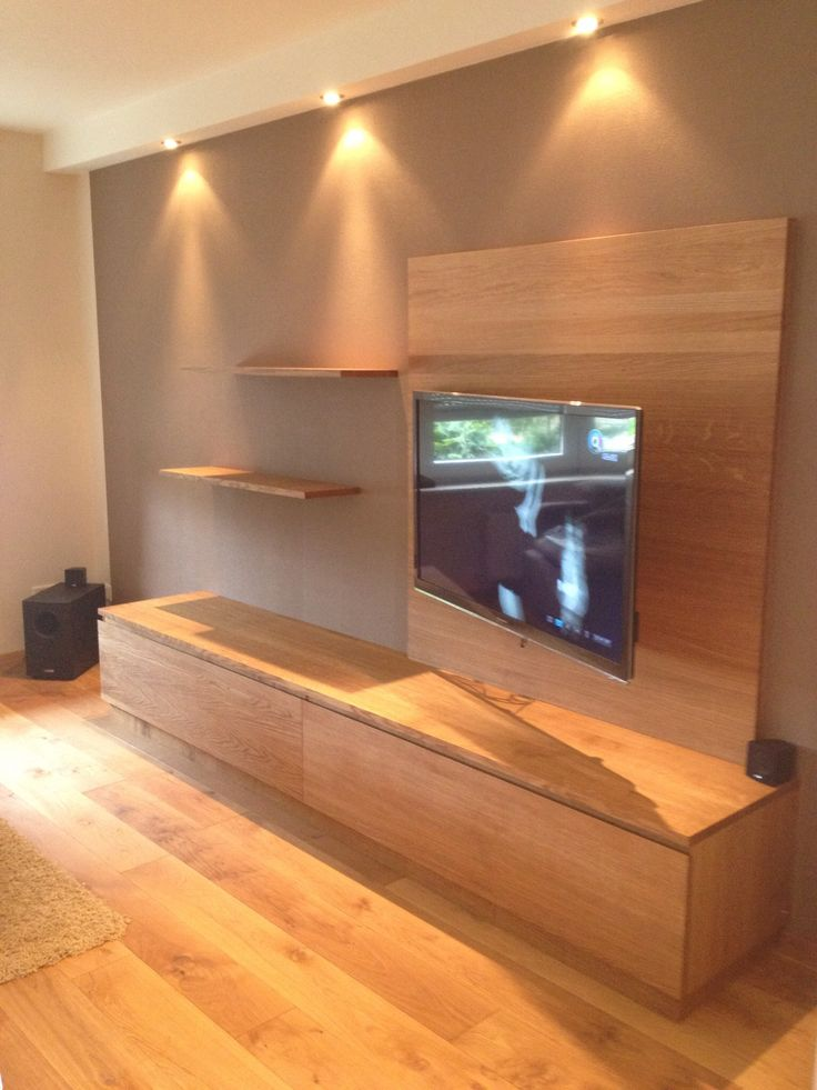 Tv furniture out of solid oak