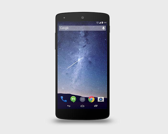 Google Nexus 5 PSD Mock-Up | Premium and Free PSD Resources