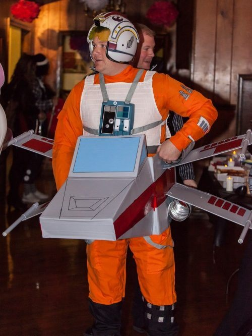 X-Wing Halloween Costume #starwars