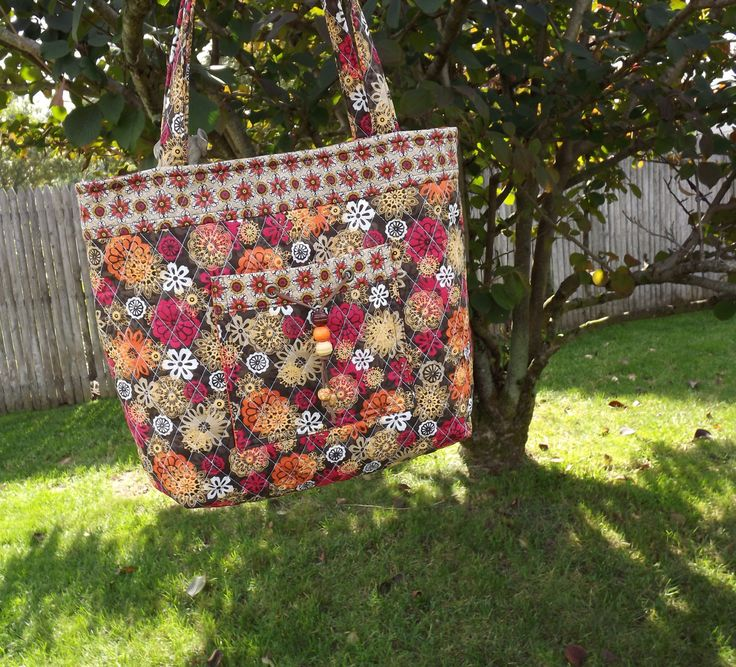 Quilted Purse, Women's Quilted Shoulder Bag, Quilted Tote by helensoriginal on Etsy