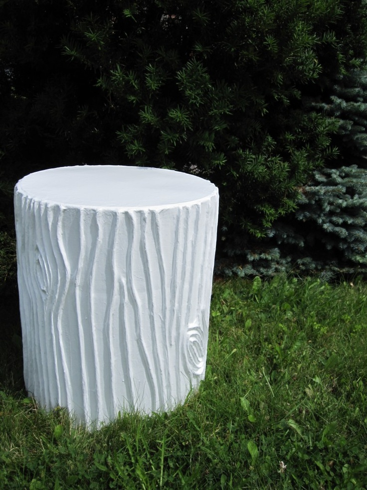Love the Stump Stool! #cottind  http://www.cottageindustry.ca/in-store-now/accents/side-chairs/