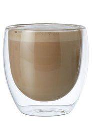 Classica Java Doublewall Tea/Coffee Glass Set 250ml 6pk