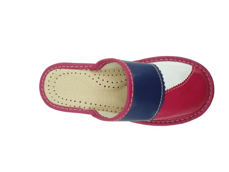 Polskie pantofle skórzane regionalne Zakopinaki