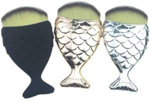 Fish-Formed Beauty Brushes  Mermaid Salon's Distinctive Make-up Brush Boasts a Novel Paddle Deal with (hotnewstrend)