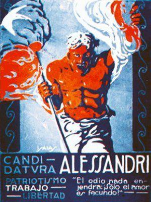 1920 Campaña Alessandri