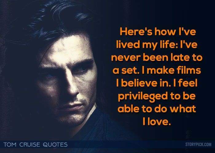 Tom Cruise Quotes: Best 25+ Cruise Quotes Ideas On Pinterest