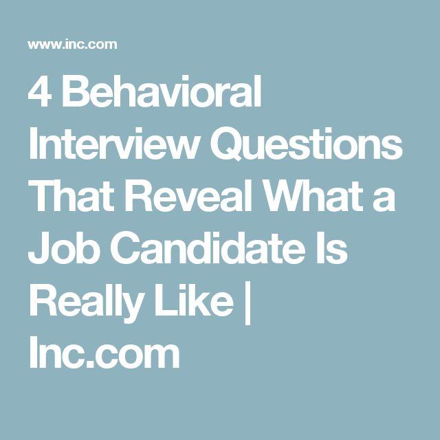 17 best ideas about behavioral interview on pinterest