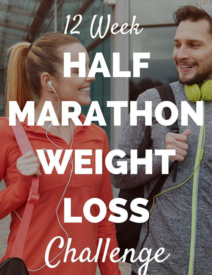 This 12 week Half Marathon Weight Loss Challenge is designed to help you lose weight while training and completing a half marathon! Lots of tips, strengthening exercises, menu plans & more!