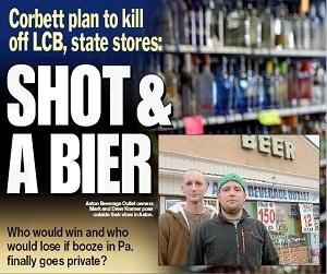 Beer distributors hope they aren't tapped out by Corbett's booze plan - delcotimes.com Jan. 31, 2013