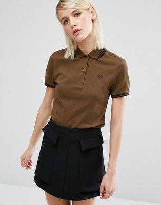 Fred Perry - Polo avec bordures à double rayure