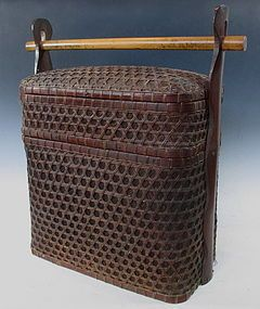 japanese antique stacking bento basket with handle bamboo pinterest other the o 39 jays and. Black Bedroom Furniture Sets. Home Design Ideas