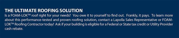 Elastomeric Protection with FOAM-LOK Spray Foam Roofs