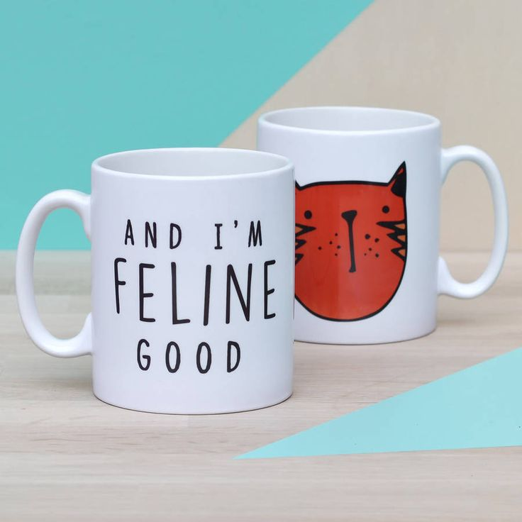 A cute kitty mug, perfect for all the cat lovers out there.Choose from 5 different cat colour designs.The witty slogan and the choice of cat colour makes this an ideal gift for cat people to show just how much they love their cat. Your mug will be dispatched to you in its own presentation box which can be seen in the forth image. The presentation box is bubble wrapped and placed in a standard cardboard box to ensure that you receive it in perfect condition.Designed and printed in England…