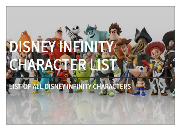 infinity list. 97 best disney infinity love ❤ images on pinterest | characters, cruise/plan and list