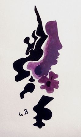 Lithographie - Georges Braque