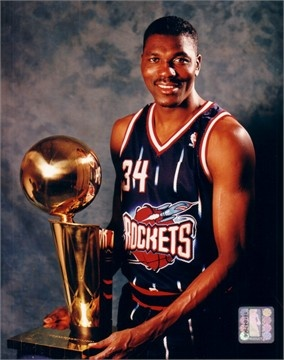 """Hakeem Olajuwon -=- The """"Dream Shake"""" The Greatest Move, from One of Only a Few of the Greatest Players of All Time, I had the Privilege of having Met him During his College Basketball Career at the University of Houston & Danced Reggae at a Houston NightClub, Still One of the Best Thrills of My Life !! <3"""