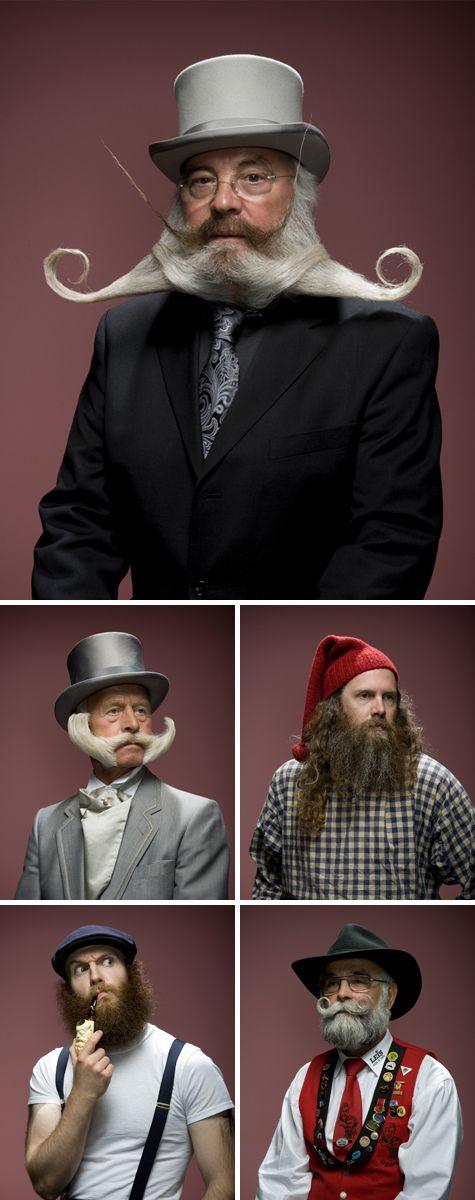 FRIDAY INSPIRATION - more crazy beards!