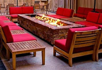 AWESOME Firepit  --- LOVE THIS!