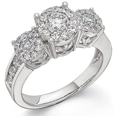 Two Hearts Diamond Anniversary Ring, 1 1/2 ct. tw. | Morgan Jewelers
