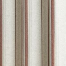 Red Country Stripe Lined Eyelet Curtains | Dunelm