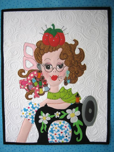 DQS9 Dolly Quilt Queen by mamacjt, via Flickr