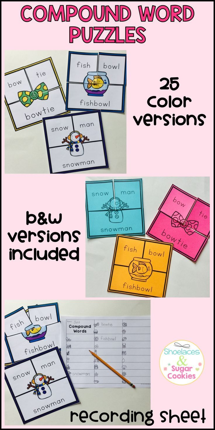 Worksheet Compound Words With Self 1000 ideas about word puzzles on pinterest brain games rebus here are 25 compound that perfect for stations small groups review
