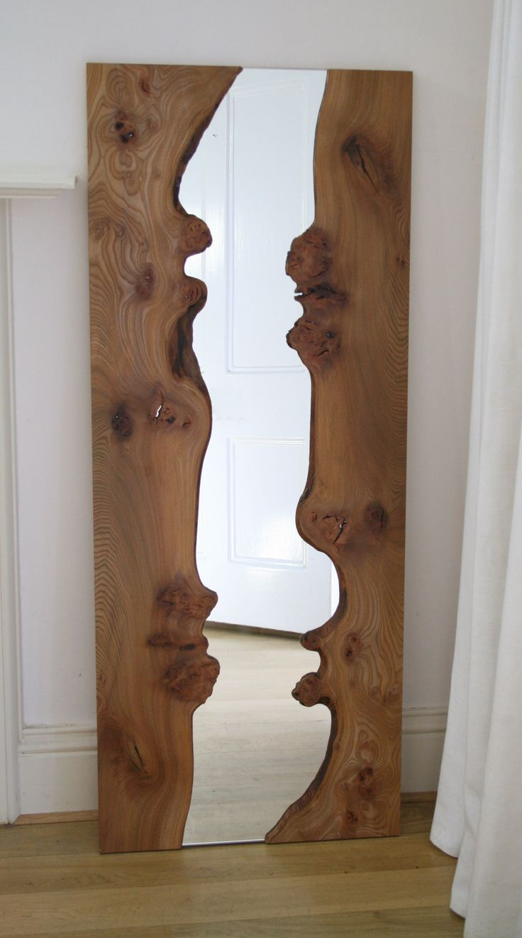 25 best ideas about wood mirror on pinterest natural