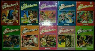 Dunia Fantasi Komik: Download Komik Gratis Mahabharata - Teguh Santosa