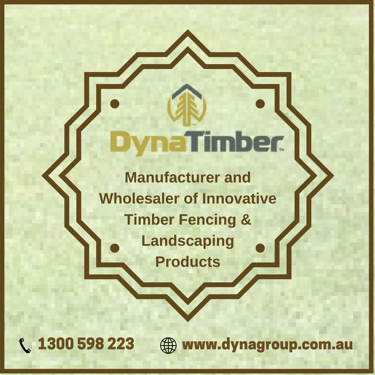 We offer a complete range of #timber #sleepers & #fencing supplies to builders and homeowners. For more info visit: https://visual.ly/community/Infographics/business/landscaping-timber-dynatimber