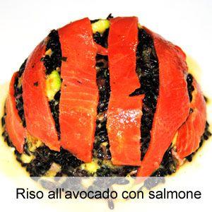 Ricetta risotto con avocado e salmone