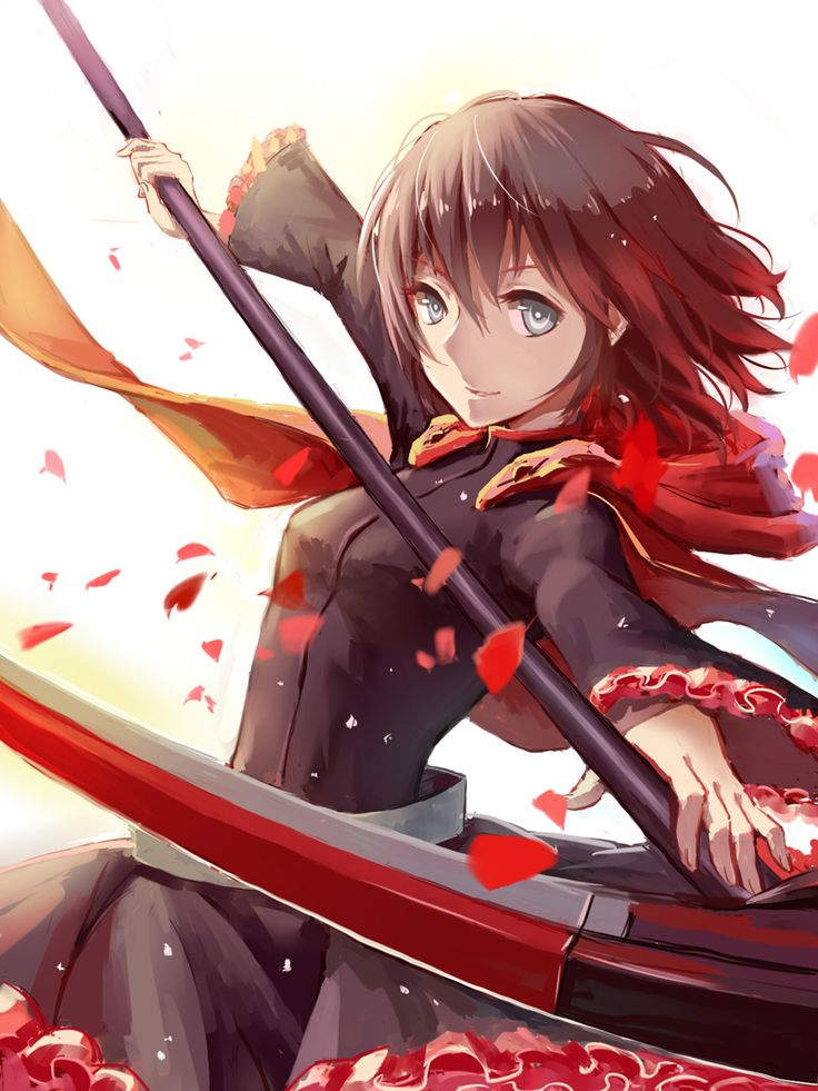 RWBY - Ruby Rose Starting off with the first clip to this great series, she still is my favorite character.