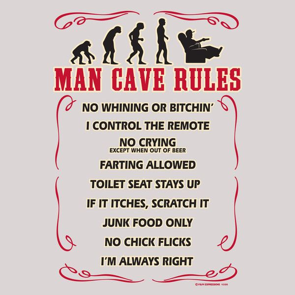 Man Cave Rules Artwork : Images about shawn on pinterest wall signs