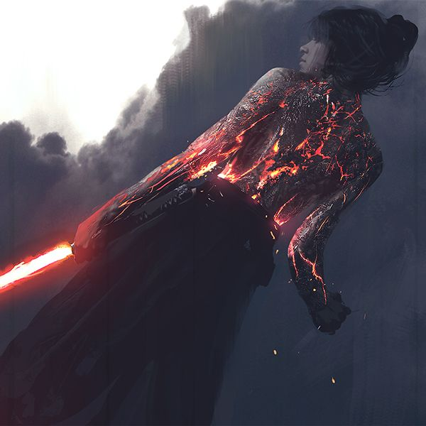 """(Pixalry)  from the """"girls of star wars"""" series by Wotjek Fus. read more about it here - https://www.behance.net/gallery/22583305/Star-Wars-Girls  think i might do some work with body markings/ painting"""
