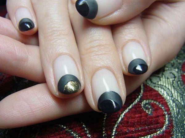 common : 漆黒のバルーンフレンチ