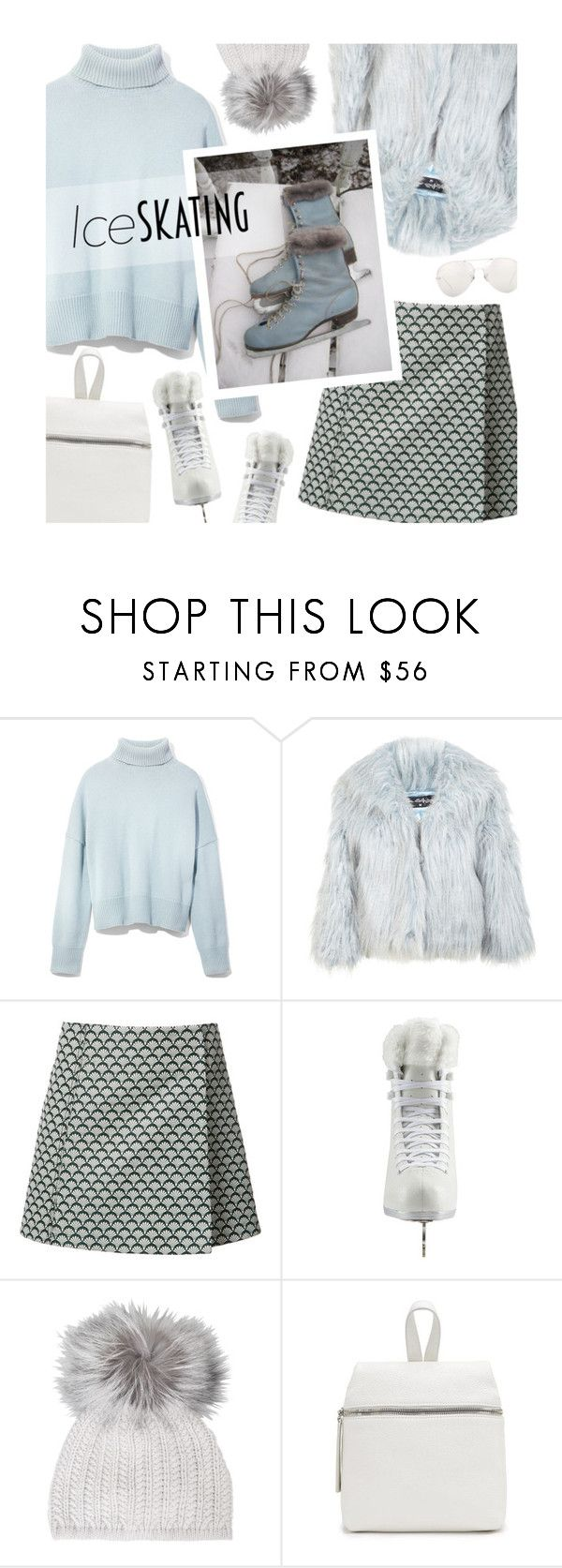 """""""Skate Date: Ice Skating Outfit"""" by magdafunk ❤ liked on Polyvore featuring interior, interiors, interior design, home, home decor, interior decorating, Frame, Miss Selfridge, Misha Nonoo and Artistique"""
