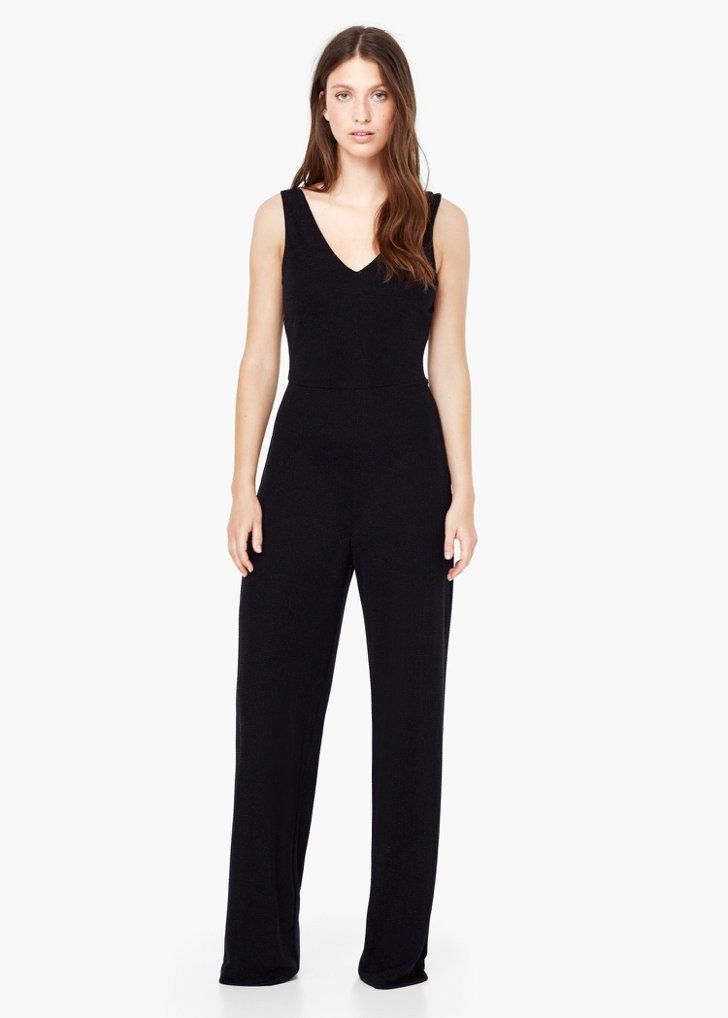 Pin for Later: 50 Fabulous Jumpsuits That Are the Perfect Alternative to a Party Dress  Mango Flowy Long Jumpsuit (£60)