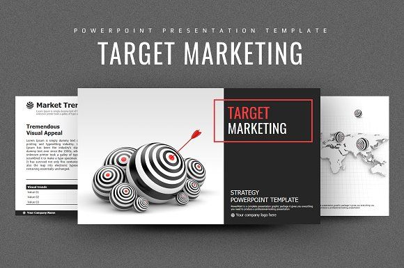 Target Marketing Strategy PPT by Good Pello on @creativemarket