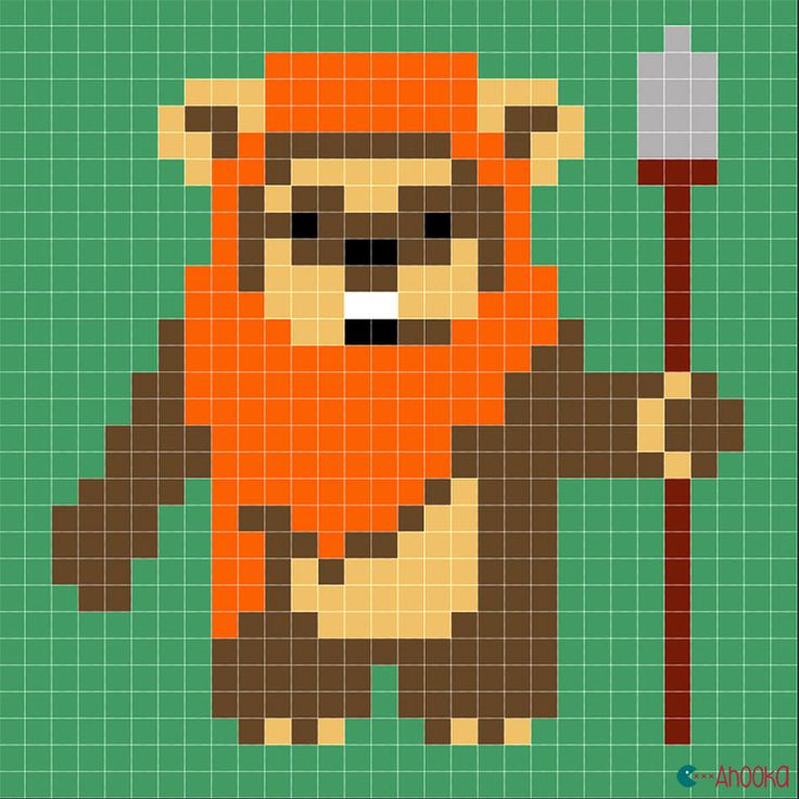 Ewok - Star Wars free chart by ahooka