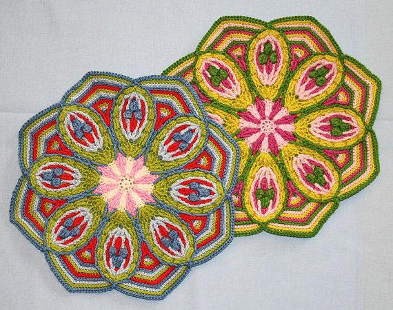 Mandala No. 2 - Overlay Crochet - Pattern - PDF