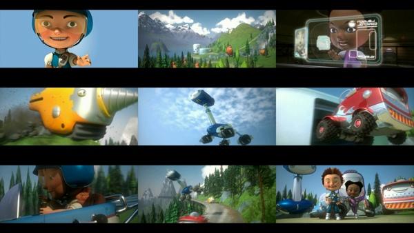 Jack Mach! © Finger Industries Ltd & Wish Films 2013.  Animation by Finger Industries, via Behance.