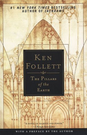 The Pillars of the Earth, by Ken Follett:  on of the world's most read books.  Great book.