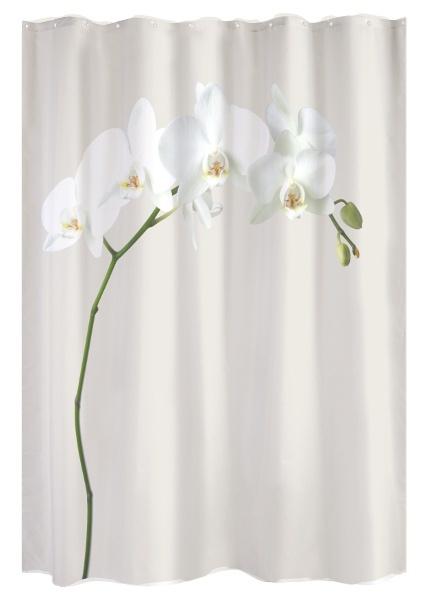 Rideau de douche Orchidée
