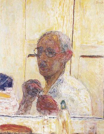 Self Portrait c1938 - Pierre Bonnard reproduction oil painting