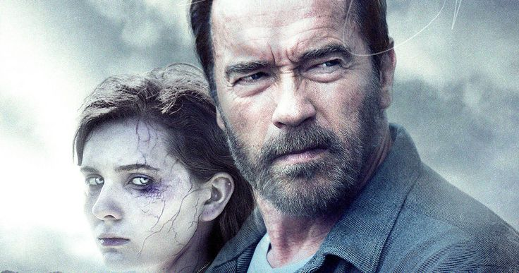 'Maggie' Poster: Schwarzenegger Goes Walking with the Dead -- Arnold Schwarzenegger must save his daughter from a full-on zombie transformation in 'Maggie', which gets its first one-sheet. -- http://www.movieweb.com/maggie-movie-poster-arnold-schwarzenegger