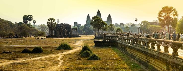 Angkor panorama