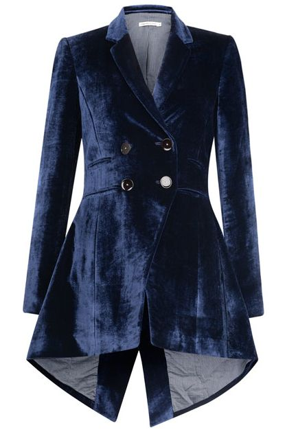 Velvet riding jacket, I'd really love this under the tree…major hint, anyone? Cabbages and Roses