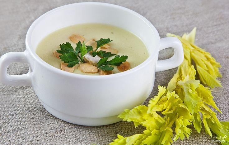 Суп из сельдерея калорийность