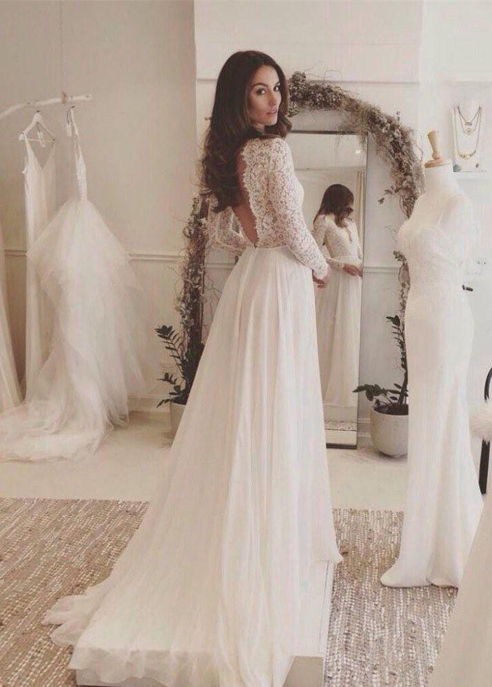 wedding dresses, summer beach wedding fashion gowns, chic open back gowns.