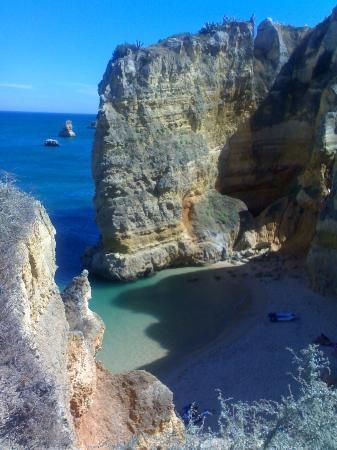 holy cool beach in portugal