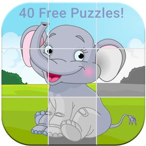 Animal Puzzles for Kids Free. http://bit.ly/124eeob A cute puzzle game for toddlers & preschoolers